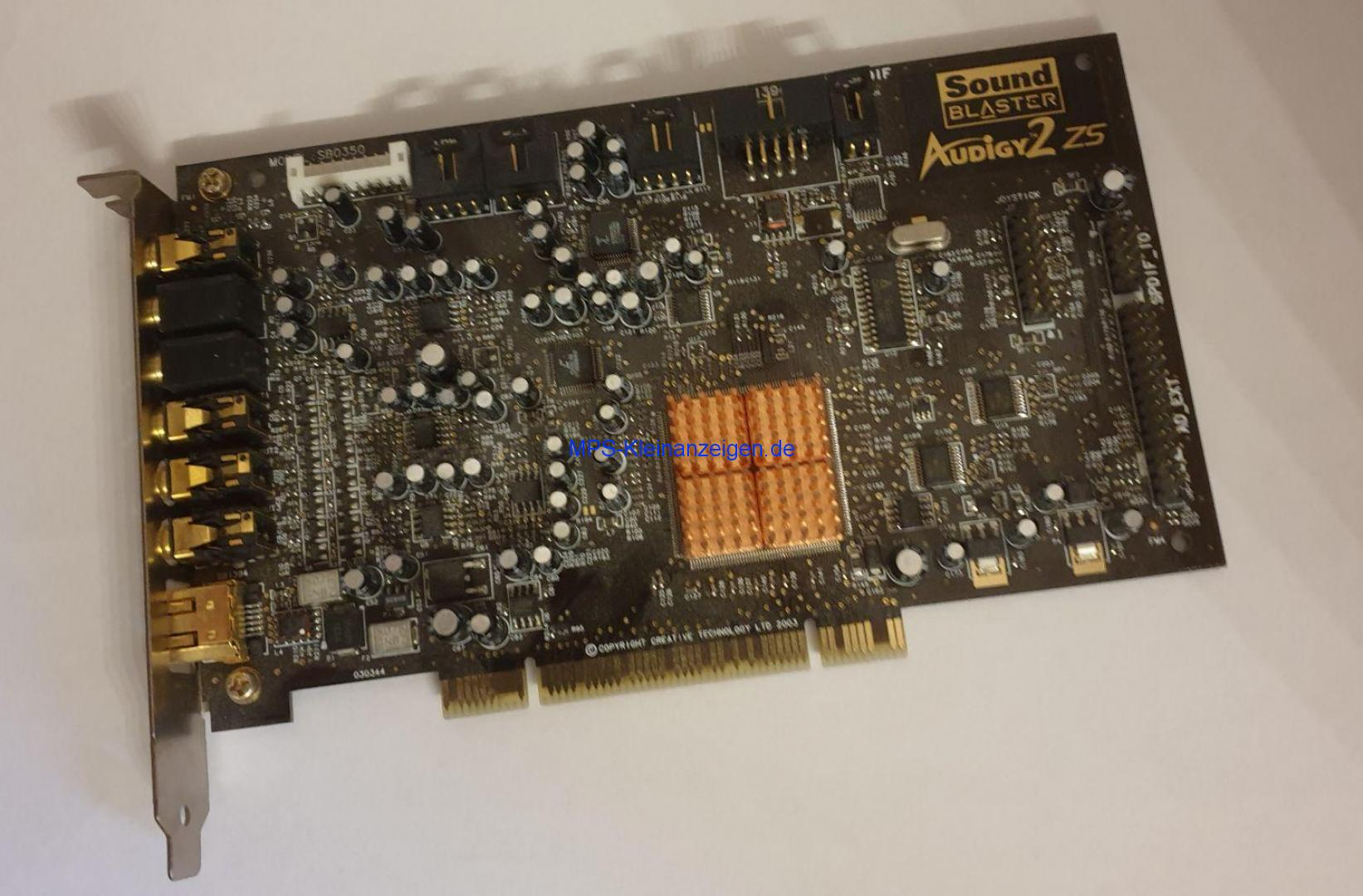 SoundBlaster Audigy 2 ZS